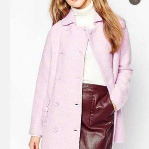 Sugarhill  Boutique pea bow coat pink